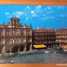 Postales: POSTAL SALAMANCA PLAZA MAYOR Y AYUNTAMIENTO. Lote 214085240