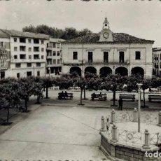 Postales: VILLARCAYO, BURGOS. Nº 7, PLAZA MAYOR. FOTOGRÁFICA ED. SICILIA, DISTR. IMPRENTA GARCÍA. Lote 214151963