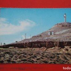 Postales: POSTAL DE PALENCIA VISTA CRISTO DEL OTERO. Lote 214216731