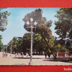 Postales: POSTAL DE PALENCIA SALÓN DEL PRADO. Lote 214219333