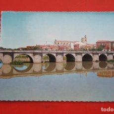 Postales: POSTAL PUENTE MAYOR (PALENCIA). Lote 214219585