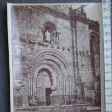 Postales: TORO ZAMORA CATEDRAL - RARA FOTOGRAFÍA IMPRESA EN FRANCIA ANTIGUA. Lote 214292231