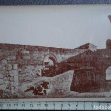 Postales: ZAMORA RESTOS DE LA CASA DEL CID - RARA FOTOGRAFÍA IMPRESA EN FRANCIA ANTIGUA. Lote 214292956