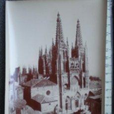 Postales: BURGOS LA CATEDRAL - RARA FOTOGRAFÍA IMPRESA EN FRANCIA ANTIGUA. Lote 214293095