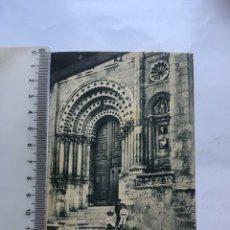 Cartes Postales: POSTAL. ZAMORA. PUERTA DEL SIGLO XII EN LA CATEDRAL. COLECCIÓN S. GARCÍA VILAPLANA.. Lote 214376217