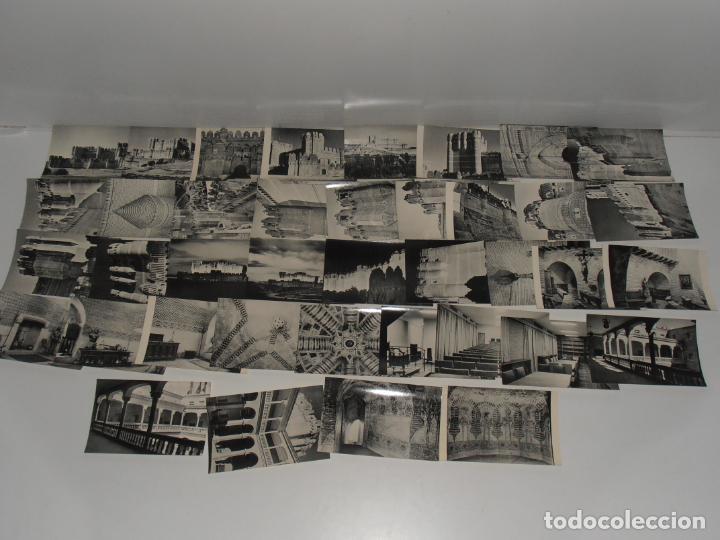 LOTE DE 39 POSTALES, CASTILLO DE COCA, ESCUELA DE CAPATACES FORESTALES MINISTERIO AGRICULTURA 1962 (Postales - España - Castilla y León Moderna (desde 1940))