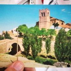 Postales: POSTAL ARANDA DE DUERO BURGOS PARROQUIA DE SAN JUAN Y PUENTE ROMANO N 7 VISTABELLA S/C. Lote 217094621