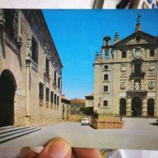 Postales: POSTAL ÁVILA FACHADA PRINCIPAL DEL CONVENTO DE SANTA TERESA N 44 GARCÍA GARRABELLA S/C. Lote 217153191