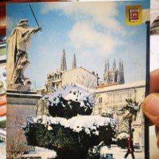 Postales: POSTAL BURGOS PASEO DEL ESPOLÓN N 142 SUBIRATS CASANOVAS S/C. Lote 217352196