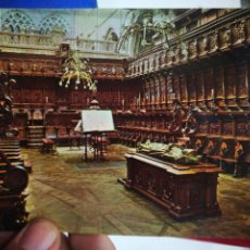 Postales: POSTAL BURGOS CÁTEDRAL CORO BORGOÑÓN SIGLO XVI N 40 ESPERON S/C. Lote 217363847