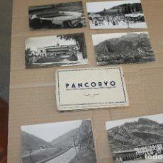 Postales: LOTE POSTALES DE PANCORVO, MUNICIPIO DE BURGOS. Lote 217611433