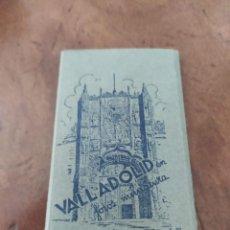 Postales: 10 FOTOS POSTALES DE VALLADOLID EN MINIATURA. EDICIONES G. GARRABELLA. Lote 217634820