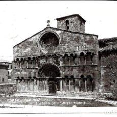 Cartes Postales: SORIA - FOTO-POSTAL ANTIGUA - DE PORTADA IGLESIA SANTO DOMINGO -CIRCULADA EL 16 - 8 -1.934. Lote 217830868