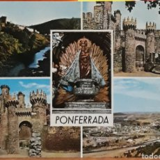 Postales: POSTAL N°2007 DIVERSOS ASPECTOS PONFERRADA. Lote 217981781