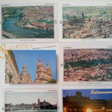 Postales: LOTE 6 POSTALES DE SALAMANCA. Lote 218238447