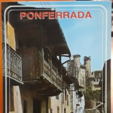 Postales: POSTAL N°2027 ATRÁS LA CABA PONFERRADA. Lote 218368117