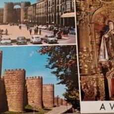 Postales: ANTIGUA POSTAL DE ÁVILA. Lote 218425788