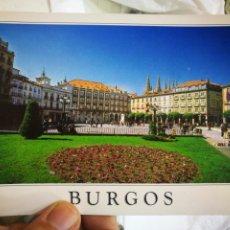 Postales: POSTAL BURGOS PLAZA MAYOR EDICIONES Á.M. ESQUINAS PELÍN TOCADAS. Lote 218507518