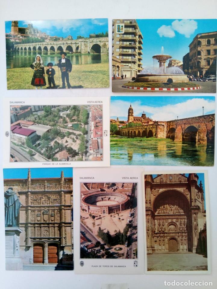 LOTE 25 POSTALES VARIADAS DE SALAMANCA (VER FOTOS) (Postales - España - Castilla y León Moderna (desde 1940))