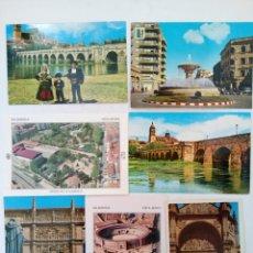 Postales: LOTE 25 POSTALES VARIADAS DE SALAMANCA (VER FOTOS). Lote 219403840