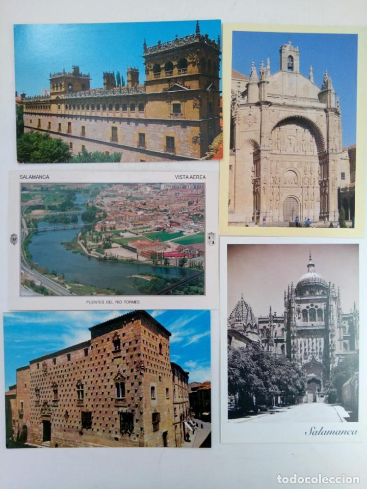 Postales: LOTE 25 POSTALES VARIADAS DE SALAMANCA (VER FOTOS) - Foto 2 - 219403840