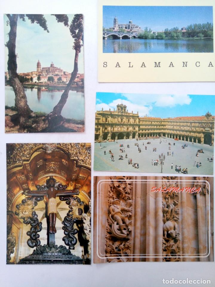 Postales: LOTE 25 POSTALES VARIADAS DE SALAMANCA (VER FOTOS) - Foto 3 - 219403840