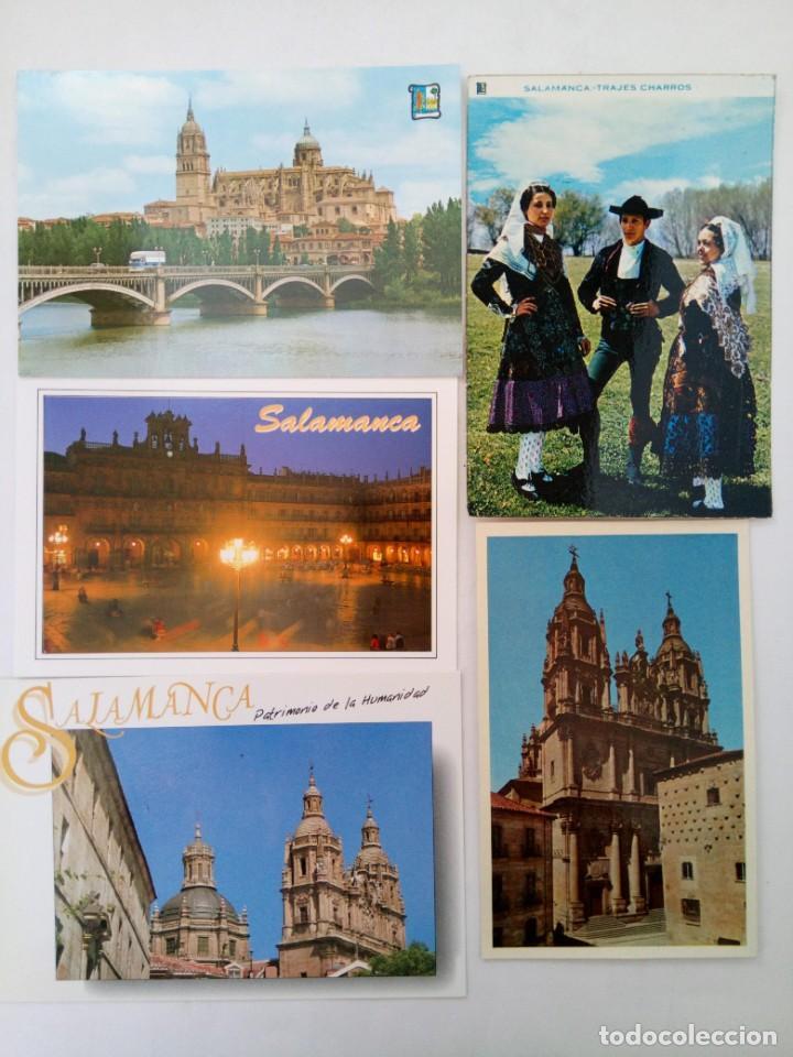 Postales: LOTE 25 POSTALES VARIADAS DE SALAMANCA (VER FOTOS) - Foto 4 - 219403840