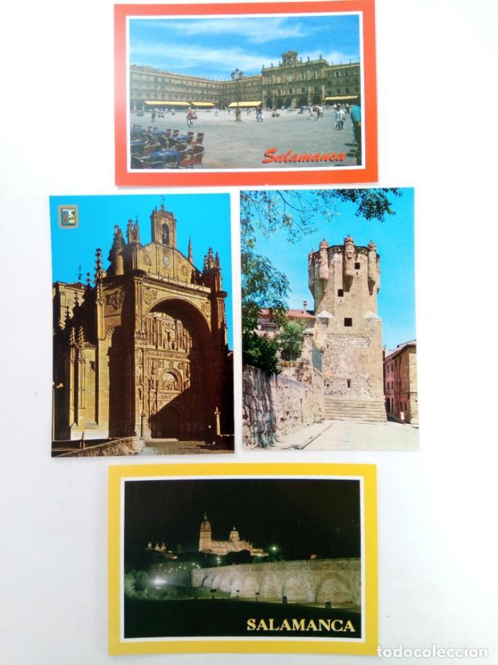 Postales: LOTE 25 POSTALES VARIADAS DE SALAMANCA (VER FOTOS) - Foto 5 - 219403840
