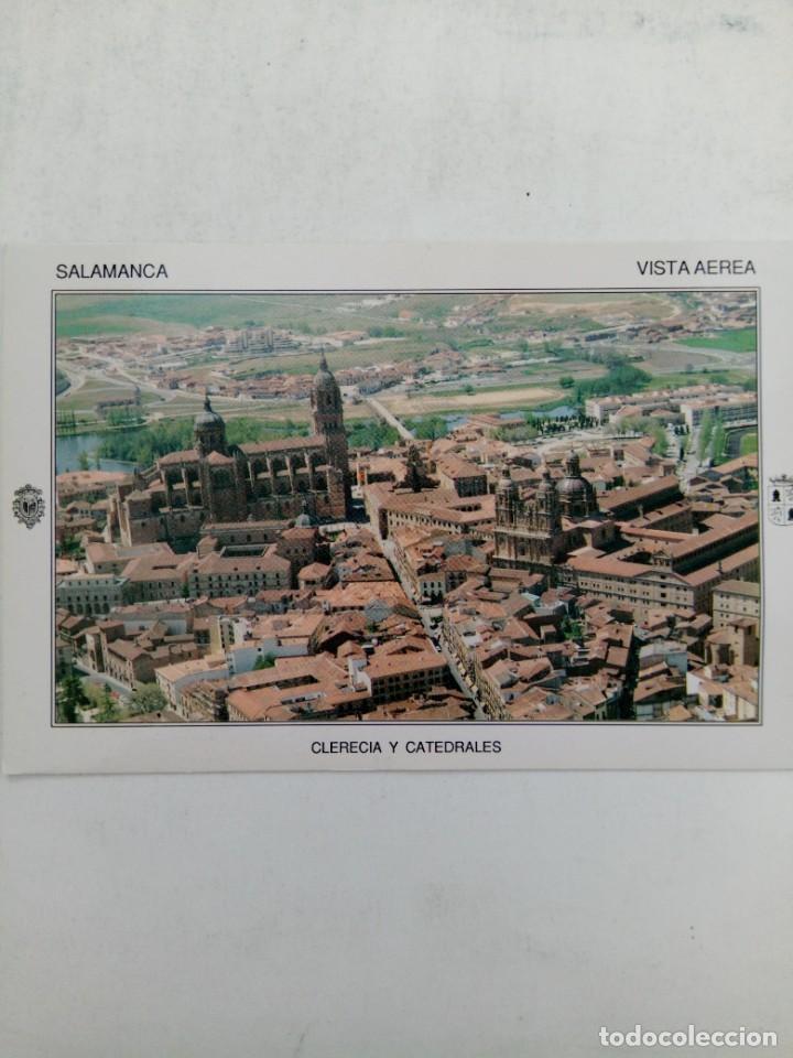 Postales: PAQUETE PRECINTADO 100 POSTALES CLERECÍA Y CATEDRALES DE SALAMACA VISTA AÉREA - Foto 3 - 219405176