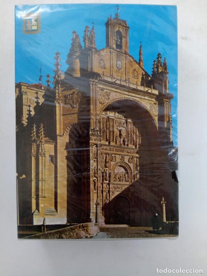 PAQUETE PRECINTADO 100 POSTALES FACHADA DE LA IGLESIA DE SAN ESTEBAN DE SALAMANCA (Postales - España - Castilla y León Moderna (desde 1940))