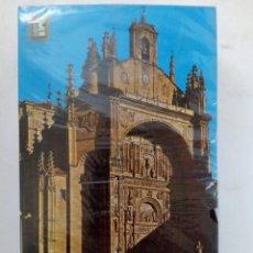 Postales: PAQUETE PRECINTADO 100 POSTALES FACHADA DE LA IGLESIA DE SAN ESTEBAN DE SALAMANCA. Lote 219405242