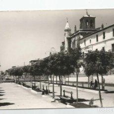 Postales: POSTAL ANTIGUA FOTOGRAFICA DE TORDESILLAS EDICIONES VISTABELLA Nº 6 PASEO DEL PALACIO-NUEVA. Lote 219752588