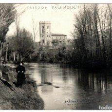 Postales: BONITA POSTAL - PAISAGE PALENCIA. Lote 220087615