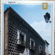 Postales: POSTAL N°66 CASA DE LOS PICOS SEGOVIA. Lote 220940316