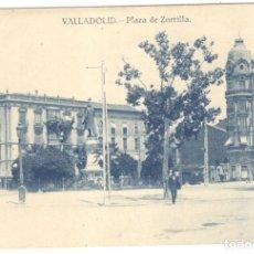 Postales: VALLADOLID: PLAZA DE ZORRILLA. EDICIÓN GRAFOS.. Lote 221431232