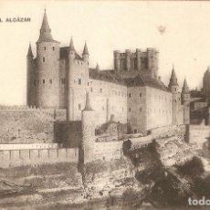 Postales: SEGOVIA - EL ALCAZAR CLICHÉ J. DUQUE S.C.. Lote 221444942