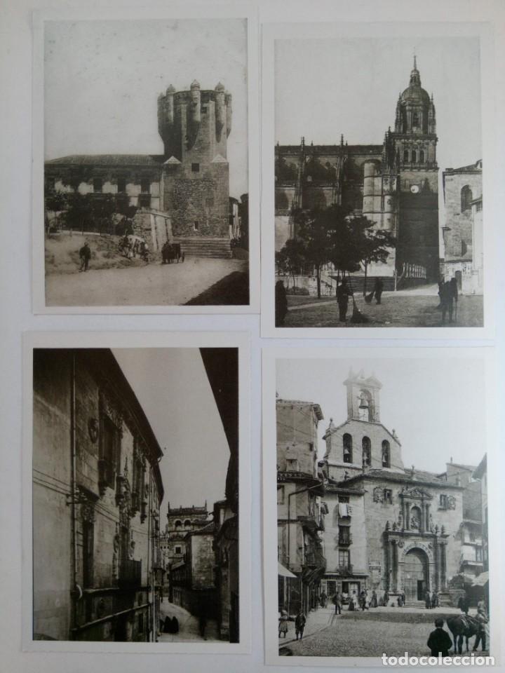 """Postales: LOTE 12 POSTALES DE SALAMANCA COLECCIÓN """"SALAMANCA A PRINCIPIOS DE SIGLO"""" (VER FOTOS) - Foto 2 - 221470380"""