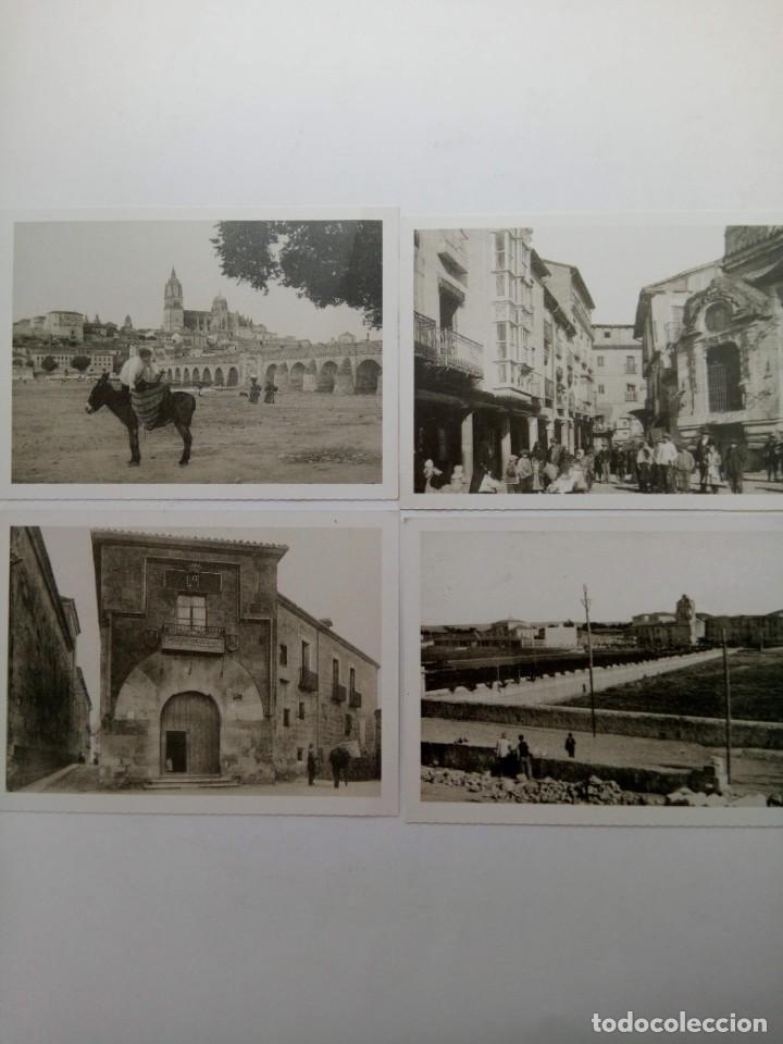 """Postales: LOTE 12 POSTALES DE SALAMANCA COLECCIÓN """"SALAMANCA A PRINCIPIOS DE SIGLO"""" (VER FOTOS) - Foto 3 - 221470380"""