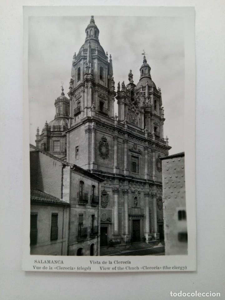 VISTA DE LA CLERECÍA DE SALAMANCA POSTAL AÑO 1959 (Postales - España - Castilla y León Moderna (desde 1940))