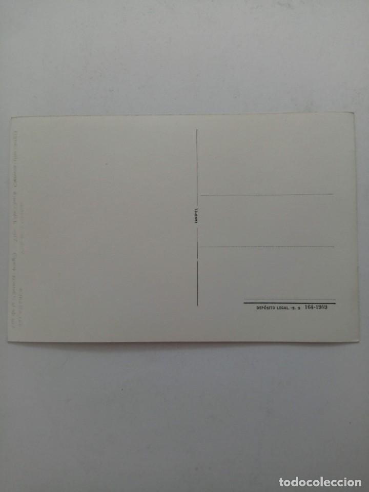 Postales: VISTA DE LA CLERECÍA DE SALAMANCA POSTAL AÑO 1959 - Foto 2 - 221470926