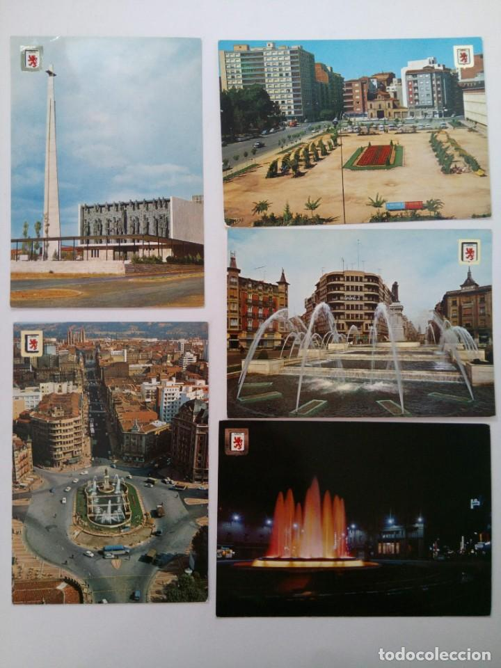 LOTE 10 POSTALES LEÓN (Postales - España - Castilla y León Moderna (desde 1940))