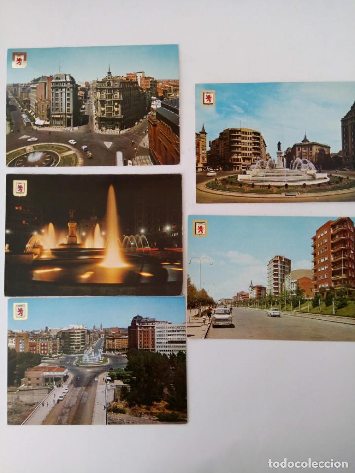 Postales: LOTE 10 POSTALES LEÓN - Foto 2 - 221471363