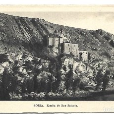 Postales: SORIA - MADRID- POSTAL ANTIGUA - ERMITA DE SAN SATURIO -AÑOS 60. Lote 221580770