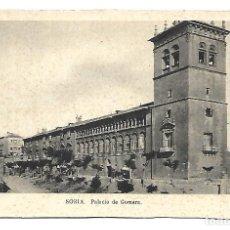 Postales: SORIA - MADRID- POSTAL ANTIGUA - PALACIO DE GOMARA -AÑOS 60. Lote 221581416