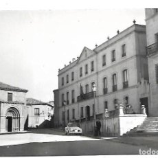 Postales: SORIA - MADRID- POSTAL ANTIGUA - IGLESIA DE SAN JUAN DE RABANERO Y DIPUTACION- AÑOS 60. Lote 221586186