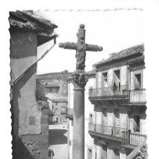Postales: SEPULVEDA-SEGOVIA- POSTAL ANTIGUA -VISTA DE LA CRUZ DE LA IGLESIA DE SAN BARTOLOME - FOTO-.CRISTOBAL. Lote 221593383
