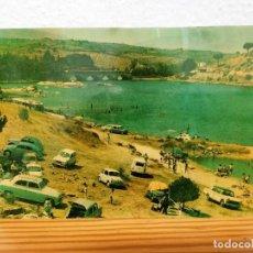 Postales: POSTAL CEBREROS-PUENTE NUEVO Y PLAYA. HELIOTIPIA ARTÍSTICA ESPAÑOLA. AÑO 1967.. Lote 221610481