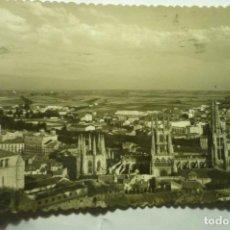 Postales: POSTAL BURGOS GNERAL Y CATEDRAL.--CIRCULADA ¡¡SIN SELLO¡¡ CM. Lote 221614041