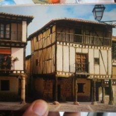 Postales: BLOC CON 10 POSTALES COVARRUBIAS ESCUDO DE ORO. Lote 221710841