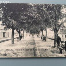 Postales: POSTAL BURGOS CALLE VALLADOLID Y ESPOLONCILLO EDIC CASA ONTAÑON LUIS SAUS CASTILLA PERFECTA CONSERVA. Lote 221817206